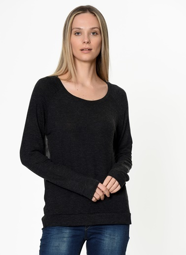 Vero Moda Vero Moda 10107627 Uzun Kollu Kadın Bluz Siyah